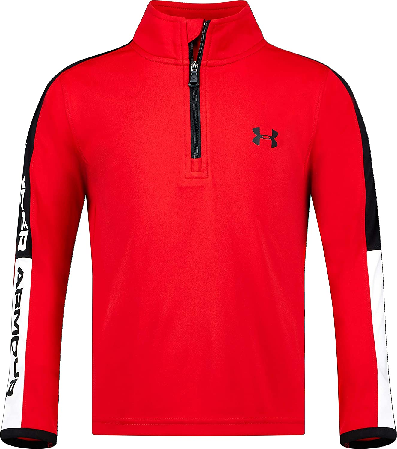 Under Armour Boys' 1 4 Long Zip Sleeve Financial sales sale Max 61% OFF Top