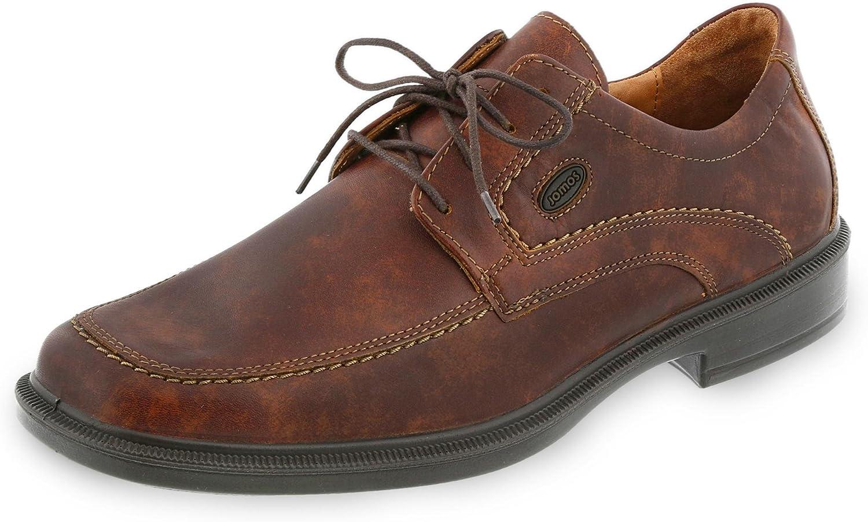 Jomos Lace-Up shoes, Size 45, cognac