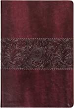The Passion Translation New Testament (2020 Edition) Large Print Burgundy: With Psalms, Proverbs, and Song of Songs (Faux ...