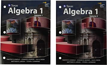 Best texas algebra 1 houghton mifflin harcourt Reviews