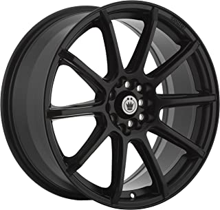 Konig 45B CONTROL BLACK Wheel (0 x 8. inches /5 x 112 mm, 45 mm Offset)