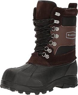 حذاء رجالي من LaCrosse مطبوع عليه Outpost II 11 بوصة بني اللون، مقاس M US