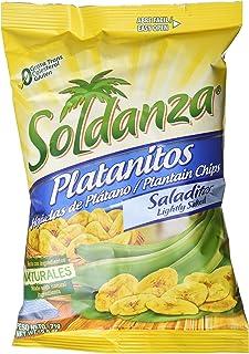 Soldanza, Plátano deshidratado - 24 de 83 gr. (Total: 2000