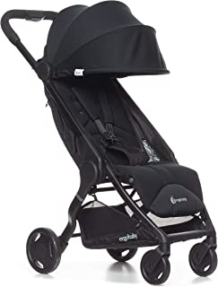 Ergobaby Metro Lightweight Baby Stroller, Compact Stroller with Easy One-Hand Fold, Black