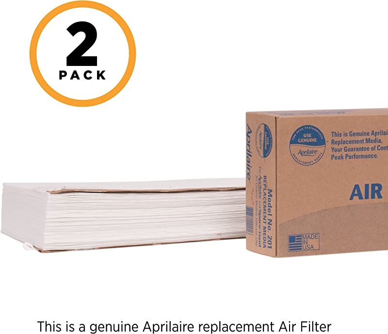 Aprilaire 201 Replacement Filter Pack Of 2