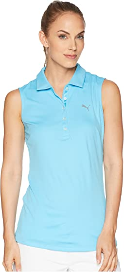 PUMA Golf Sleeveless Pounce Polo