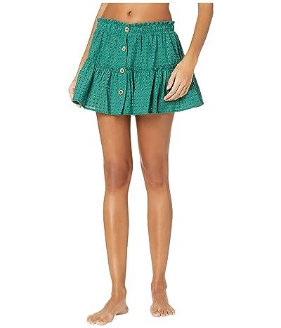Eberjey Portola Nellie Skirt Cover-Up (Palm) Women