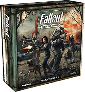 Modiphius Entertainment Fallout: Wasteland Warfare, Juego