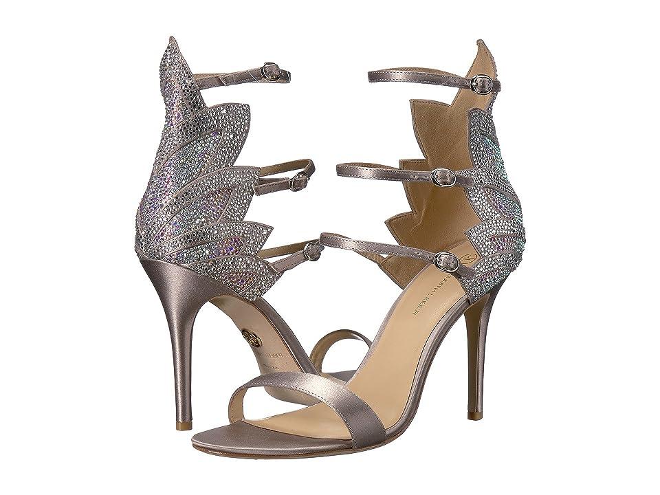 JL by Judith Leiber Marry (Silver) High Heels