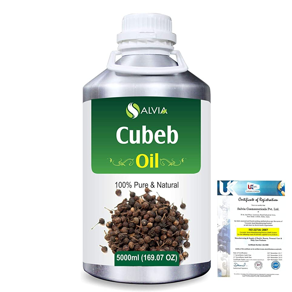 耳ベアリング大臣Cubeb (Piper Cubeba) 100% Pure Natural Essential Oil 5000ml/169 fl.oz.