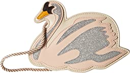 Stella McCartney Kids - Swan Glittered Bag
