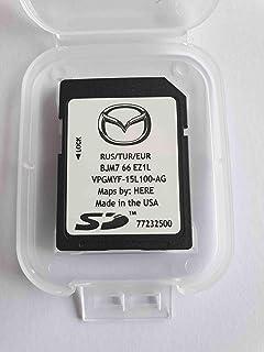 Tarjeta SD GPS Mazda Connect Europe-Turquie-Russie 2018 (