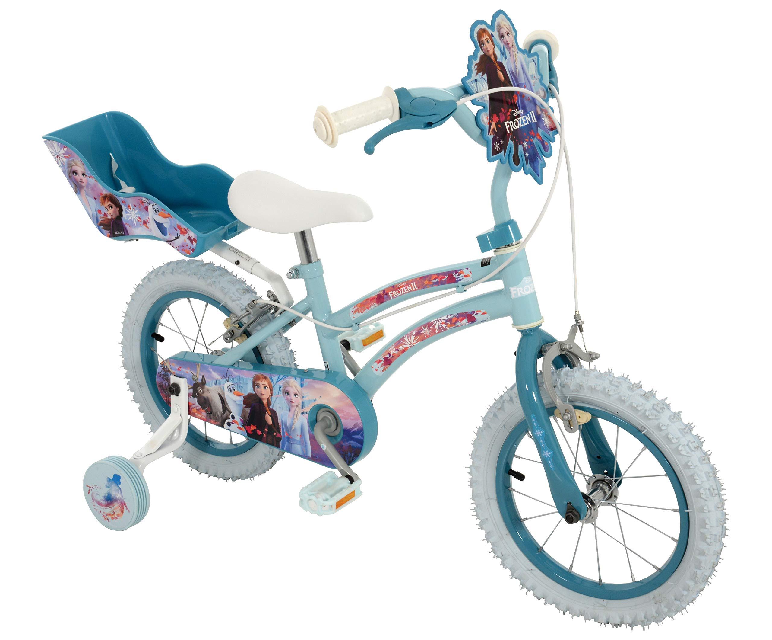 Disney Frozen 14inch Bike Bicicleta de 14 Pulgadas, niña ...