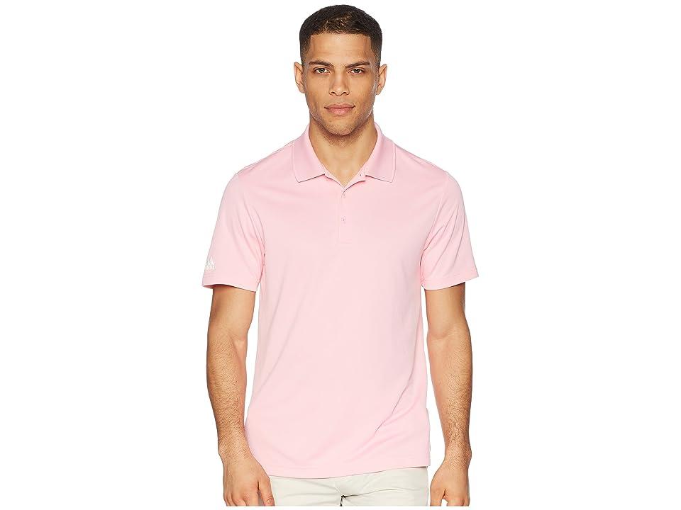 adidas Golf Performance Polo (Light Pink) Men