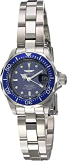 Invicta Women's 'Pro Diver' Quartz Stainless Steel Diving Watch, Color:Silver-Toned (Model: INVICTA-9177)