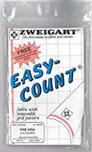 Zweigart Easy Count Fabric Fine Aida 14ct (White)