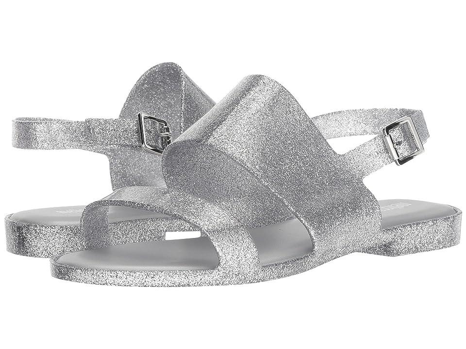 Melissa Shoes Classy (Silver Glass Glitter) Women