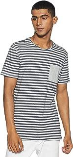 Indigo Nation Street Men's Striped Slim Fit T-Shirt