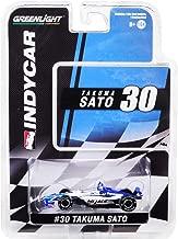 Dallara Indy Car #30 Takuma Sato Panasonic/Mi-Jack Rahal Letterman Lanigan Racing 1/64 Diecast Model Car by Greenlight 10851