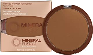 Mineral Fusion Deep 3 Makeup Pressed Powder Foundation By Mineral Fusion, 0.32 oz
