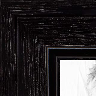 ArtToFrames 5x15 inch Black Stain on Maple Wood Picture Frame, 2WOM0066-80209-YBLK-5x15