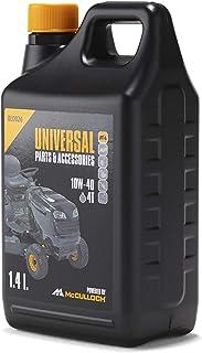 Universal 10W/40-1,4L Aceite 4 Tiempos 10W/40, para protección contra el desgaste, alto efecto lubricante, limpieza óptima del motor, Standard, 1,4L