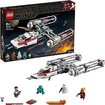 LEGO StarWars Y-WingStarfighterdellaResistenza, Set da Costruzione dell'Astronave da Battaglia,Collezione L'Ascesa di Skywalker, 75249