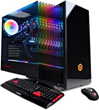 CYBERPOWERPC Gamer Xtreme VR Gaming PC, Liquid Cool Intel Core i9-9900K 3.6GHz, NVIDIA GeForce RTX 2070 Super 8GB, 16GB DDR4, 1TB PCI-E NVMe SSD, WiFi Ready & Win 10 Home (GXiVR8080A8, Black)