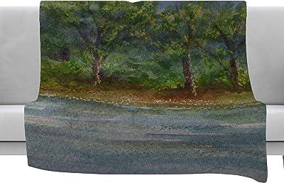 Kess InHouse Pellerina Design Magic Morning Red Nature Throw 40 x 30 Fleece Blanket