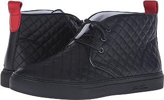 Del Toro Men's Leather Chukka Sneaker with Metallic Trek Sole