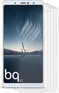 MoEx Anti Reflex displayskyddsfilm kompatibel med BQ AQUARIS X2 | skyddsfolie matt display film mot reflektioner, flexibel...