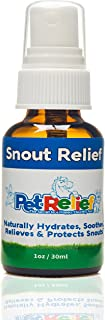Natural Dog Dry Nose Relief, Nose Moisturizer,! 40 Day Supply (30ml) Dry, Cracked, Chapped Nose Balm, Better Than Meds, No Side Effects! USA Made By Pet Relief