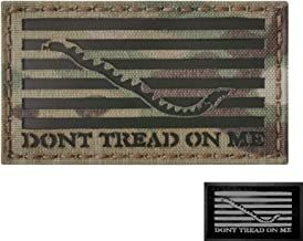 Multicam Infrared IR US First Navy Jack Dont Tread On Me DTOM Flag 3.5x2 Tactical Morale Hook&Loop Patch