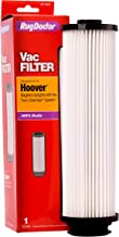 Rug Doctor Hoover Twin Chamber Filter, One Replacement Filter for Hoover Bagless Uprights with The Twin Chamber System, Designed to Trap Dirt, Dust and Dander