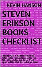Steven Erikson Books Checklist: Reading Order of Malazan Book of the Fallen Series, The Kharkanas Series, The Tales of  Bauchelain and Korbal Broach Series and List of All Steven Erikson Books