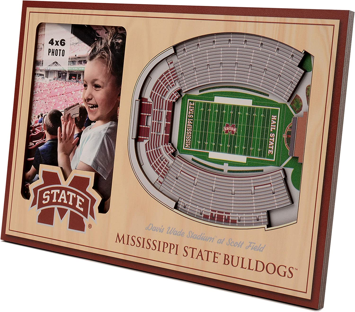 Quality inspection YouTheFan NCAA 3D Picture StadiumViews Raleigh Mall Frame