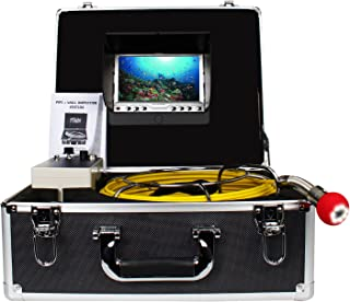 Pipe Pipeline Inspection Camera, Drain Sewer Industrial Endoscope Anysun PIC20 Waterproof IP68 Snake Video System with 7 Inch LCD Monitor 1000TVL Sony CCD Camera with 20M Cable