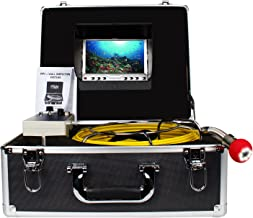 Pipe Inspection Camera, Drain Sewer Industrial Endoscope Anysun PIC20 Waterproof IP68 20M/65ft Snake Video System with 7 Inch LCD Monitor 1000TVL Sony CCD Camera