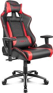 comprar comparacion Drift DR150BR - Silla Gaming Profesional, (Poilipiel Alta Calidad, Ergonómica), Color Negro/Rojo