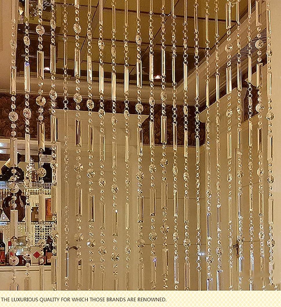 男らしい後世感性LIQICAI トライアングルビーズカーテンクリスタルディバイダールームパーティークラブShopwindowデコレーション、16サイズあり (Size : 160*120CM)
