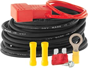 CURT 55151 Powered Wiring Kit for Tail Light Converter, 10 Amps
