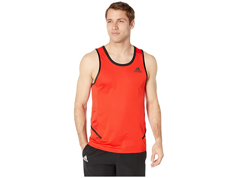 adidas Active Tank (Active Red) Men