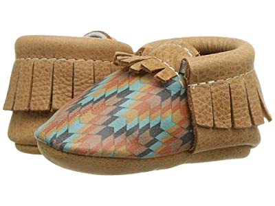 Freshly Picked Desert Knit Moccasin (Infant/Toddler) (Brown/Multi) Kid