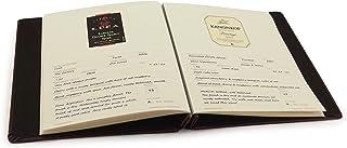 Etiqueta de couro e diário de degustação da Cellar Notes – mantém suas notas de sabor, classificações e etiquetas das garr...