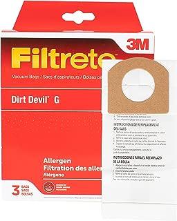 3M Dirt Devil Style G Allergen Bag Pkg