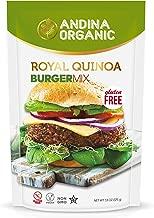 Andina Organic Quinoa Vegan Protein Burger Mix | Gluten Free Plant Protein Hamburger Patties