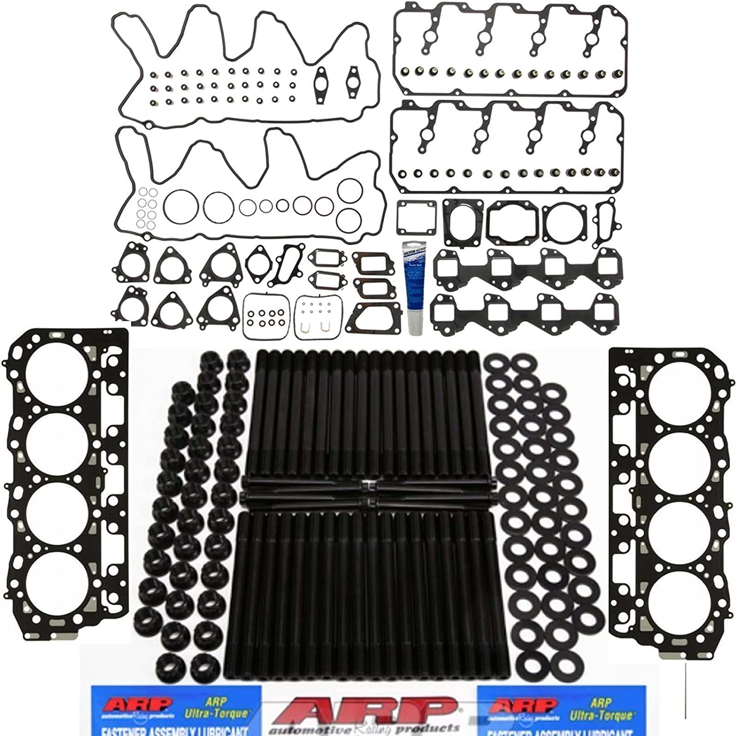 ARP Stud Kit w All stores are sold Head Gasket Louisville-Jefferson County Mall 'C' Gaskets Durama - Set Grade