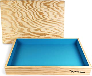 wooden sand tray