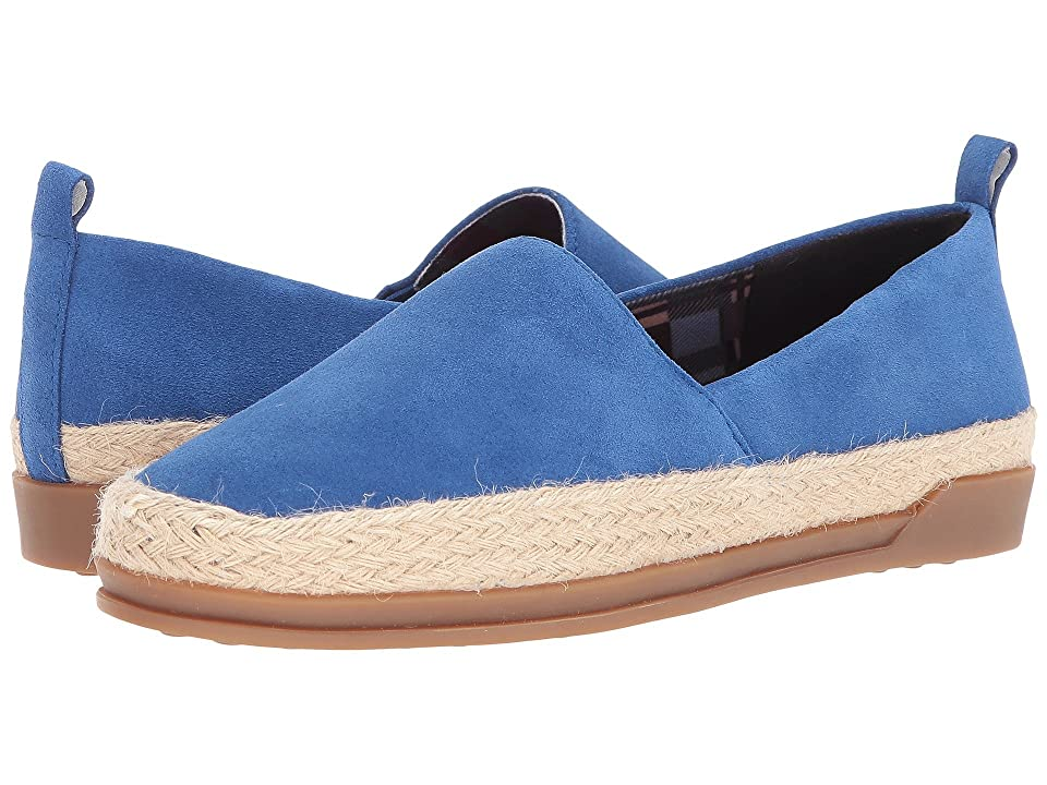 Blondo Bailey Waterproof Espadrille (Blue Suede) Women