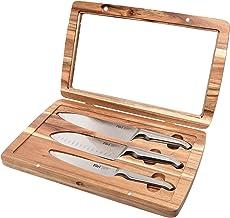 Furi 41364 Pro Acaica Knife Set 3 Piece Silver